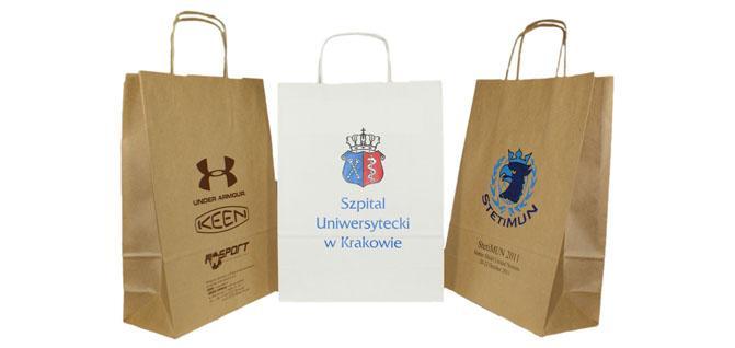 In túi giấy Kraft - Paper Bags