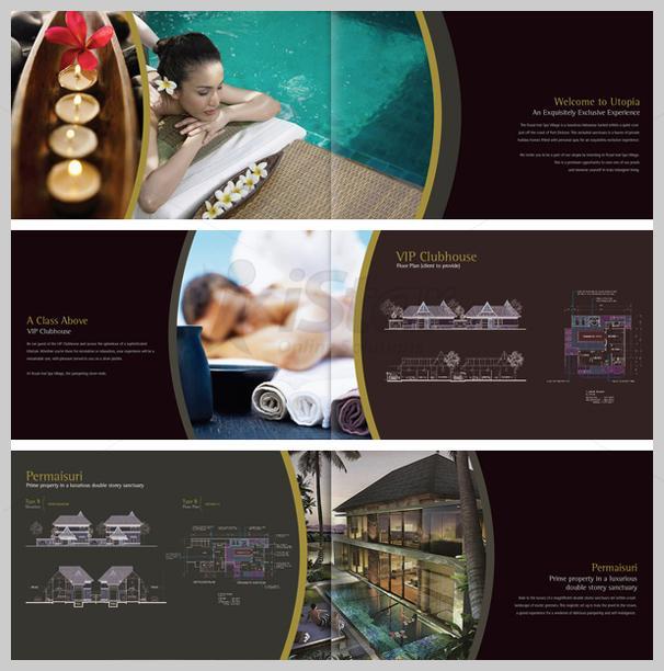 Thiết kế in nhanh brochure thẩm mỹ viện - spa